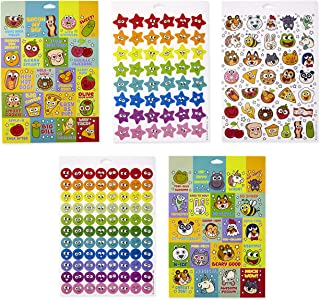 Hallmark Reward Stickers for Kids (Pack of 400 + Stickers, 10 Sheets for Homework, Encouragement Charts, and More)