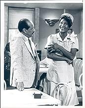 Vintage Photos 1987 Photo Sherman Hemsley Actor Paula Kelly Actress Rolly Falls Love Amen NBC