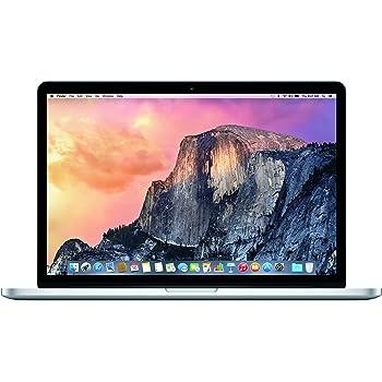 """Apple MacBook Pro 15"""" Retina Display (Mid 2015) - Core i7 2.2GHz, 16GB RAM, 256GB SSD (Renewed)"""