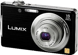 パナソニック デジタルカメラ LUMIX FH5 ブラック DMC-FH5-K