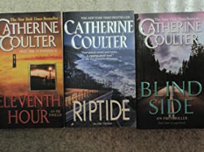 Three Catherine Coulter Paperbacks (Eleventh Hour; Riptide; Blind Side)