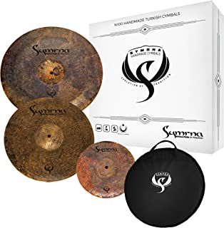 Symrna Cymbals Hand Hammered Cymbal Pack Made in ISTANBUL (15