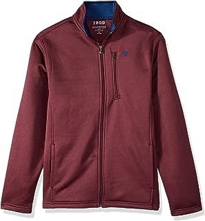 IZOD Men's Premium Essentials Spectator Full Zip Fleece Jacket