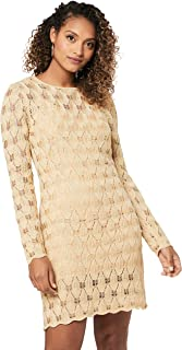 Finders Keepers Women's Shimmer Dress, Gold