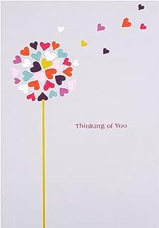 Hallmark Thinking of You Card Love Hearts'' - Medium