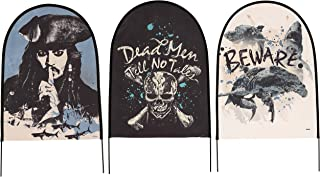 Pirates of the Caribbean Dead Men Tell No Tales Fabric Tombstones (Set of 3)