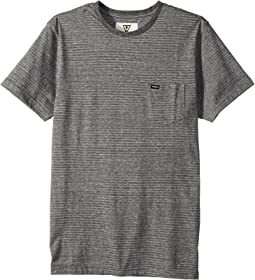 VISSLA Kids - Sartine Short Sleeve Knit Top (Big Kids)