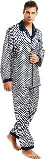 Mens Silk Satin Pajamas Set Sleepwear Loungewear S~3XL Plus