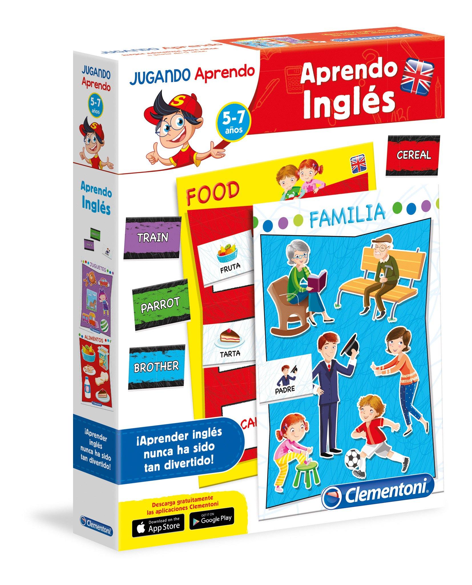 Clementoni- Juego educativo aprendo inglés, única (65598.4) , color/modelo surtido: Amazon.es: Juguetes y juegos