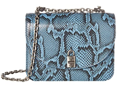 Rebecca Minkoff Love Too Crossbody (Cement Blue) Handbags