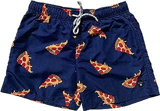 square leg swim trunks