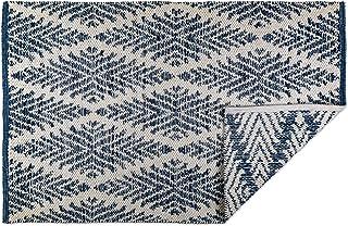 DII CAMZ10422 Indoor Flatweave Cotton Handloomed Yarn Dyed Woven Reversible Area Rug for Bedroom, Living Room, Kitchen, 2x...