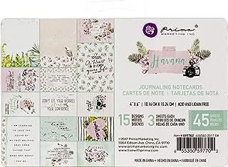 "Graphic 45 floral Shoppe ephemera cards 32//PKG 6x4/"" 4x3/"" nota tarjetas 32 St."
