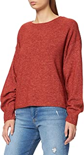 Vero Moda Vmplaza Ls Boxy Blouse GA Boo Rep Sweater Femme