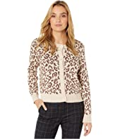 Kate Spade New York - Panther Intarsia Cardigan