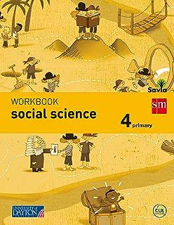Social science. 4 Primary. Savia. Workbook - 9788415743767