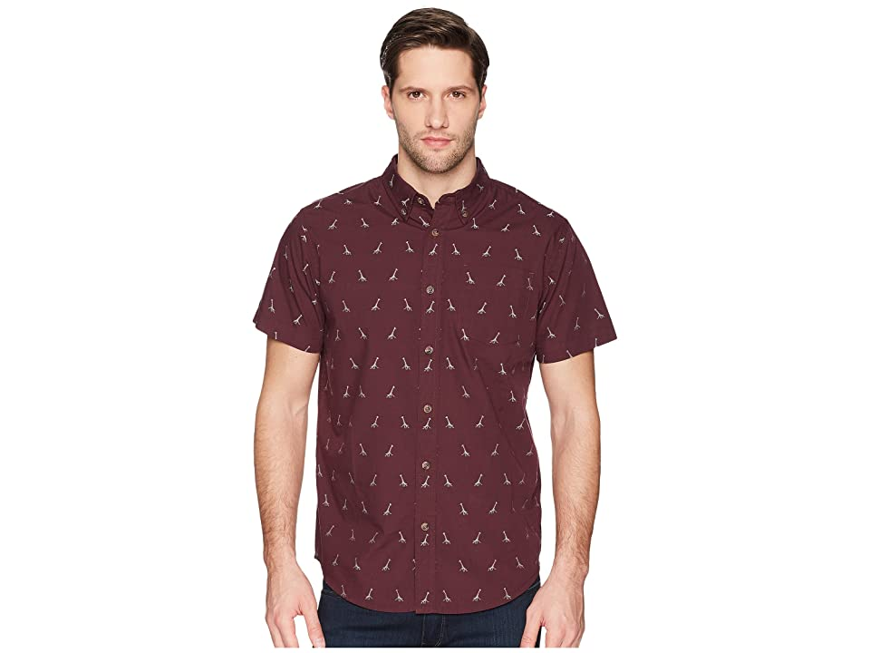 Prana Broderick Embroidery Shirt (Thistle) Men