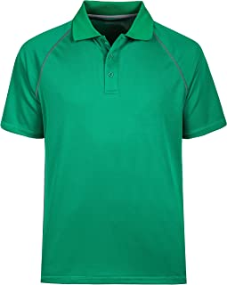 Moheen Men's Polo Shirts Wicking Big and Tall Shirt Plus Sizes S to 5XL -Work Casual Sports Leisure Top