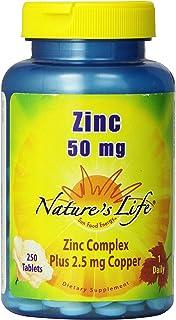 Nature's Life Zinc, 50 mg | 250 ct