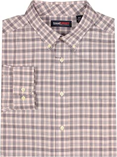 Roundtree & Yorke TravelSMART Men's Big & Tall Wrinkle Resistant Easy-Care Shirt