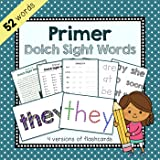 Primer Dolch Sight Words Flashcards, Spelling, and Worksheets