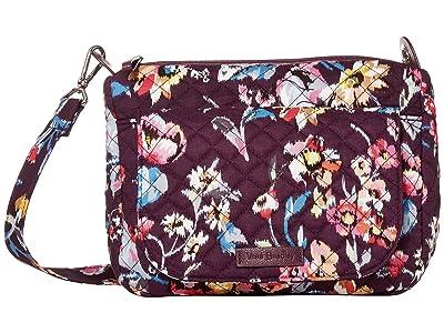 Vera Bradley Carson Mini Shoulder Bag (Indiana Rose) Cross Body Handbags
