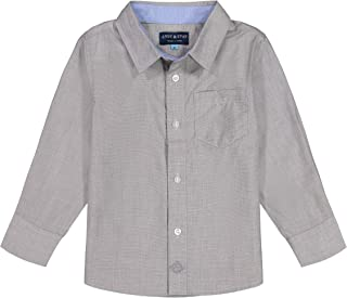Andy & Evan Toddler & Boys' Classic Long Sleeve Button Down Shirt