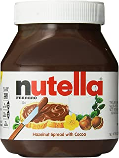 Nutella, 26.5 oz (Pack of 2)