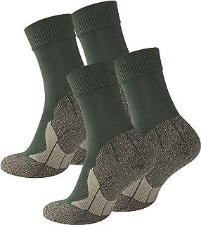 2 pares de calcetines para senderismo unisex, Suela de rizo, Gran calidad