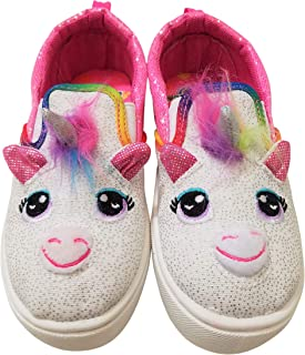 Build-A-Bear Girls Unicorn Character Sneakers Shoes