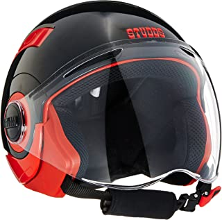 Studds Nano Helmet Red/Black (560MM)