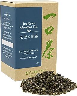 Eco-Cha Jin Xuan Oolong Tea, Loose-Leaf