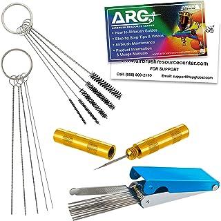 3 Set Airbrush Cleaning Kit BALYLAS Airbrush CleanerAirbrush Cleaning Kit Airbrush Cleaning Pot with Cleaning Needle Nozzle Brush /& Airbrush Holder