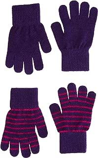 2 Pck. Wool Blend Kids Gloves - Unisex-Boy-Girl (3-6 Years)