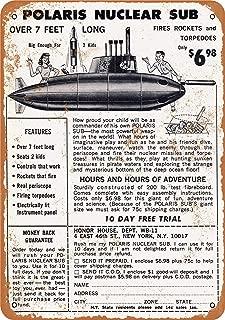 CoareL 1967 Polaris Nuclear Sub Toy - Vintage Look 8