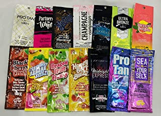 cheap tanning lotion samples