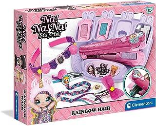 Clementoni Na Surprise colorés, décoration Petites Filles, Set d'accessoires pour Cheveux, Loisir créatif Enfant 7 Ans-fab...