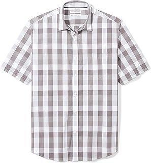 Men's Regular-fit Short-Sleeve Poplin Shirt