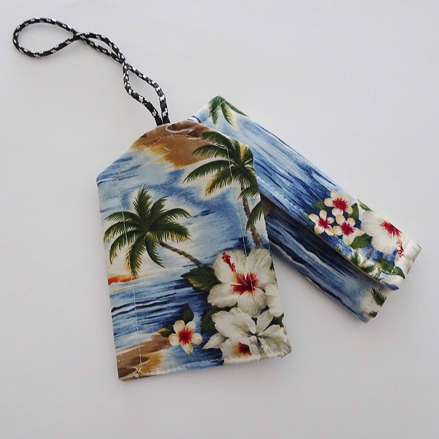 Max 57% OFF Tropical Beach Luggage ID Spasm price Tag Handle Set and Wrap