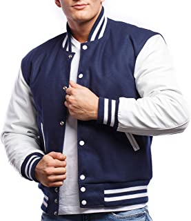Letterman Jacket (10 Color Options) - S to 2XL