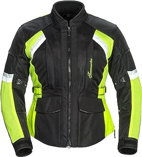 TourMaster Women's Sonora Air 2.0 Jacket (Black/Hi-Viz, Plus Large)