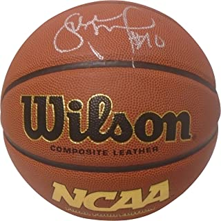 Uconn Huskies Sue Bird Autographed Hand Signed NCAA Wilson Basketball with Exact Proof Photo of Signing, Seattle Storm, Dynamo Moscow, Spartak, COA- University of Connecticut Huskies Collectibles