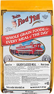 Bob's Red Mill Golden Flaxseed Meal, 25-pound Bulk Bag