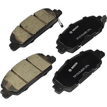 Bosch BC1654 QuietCast Premium Ceramic Disc Brake Pad Set For: Honda Accord, HR-V, Front