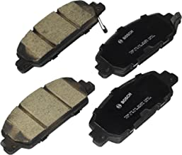 Bosch BC1654 QuietCast Premium Ceramic Disc Brake Pad Set For: Honda Accord, HR-V, Front