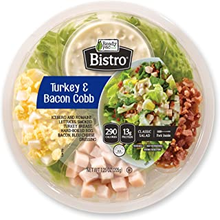 Ready Pac Foods Turkey and Bacon Cobb Bistro Bowl Salad, 7.25 oz