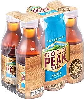 Gold Peak Tea, Sweet Tea, 16.9 fl oz, 6 Pack