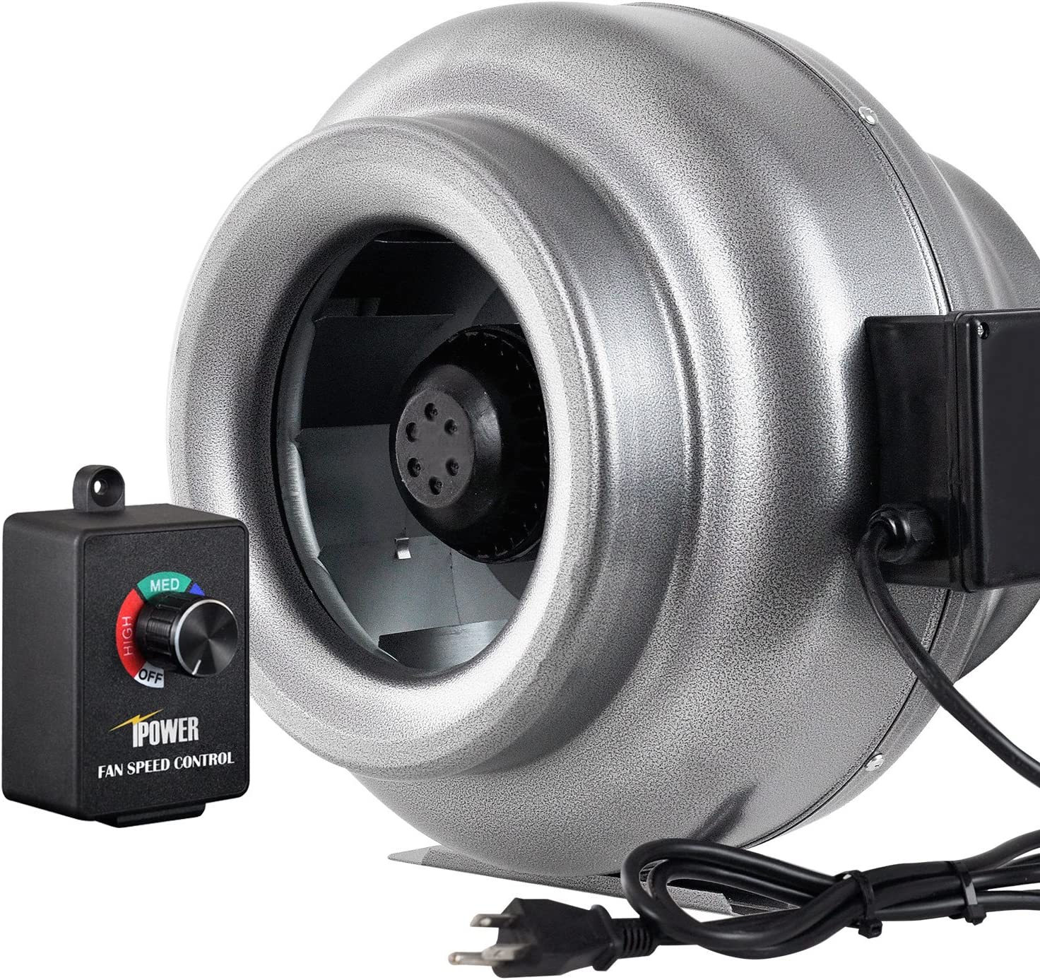 outlet iPower GLFANXINLCTR10 Virginia Beach Mall 10 Inch 862 CFM Duct B Exhaust Inline HVAC