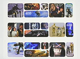 Stars Wars Galaxy Edible Icing Image Cake Border Decoration (3 Strips)