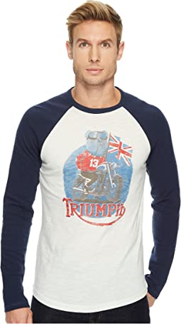 Lucky Brand - Adam Nickle Triumph Bulldog Graphic Tee